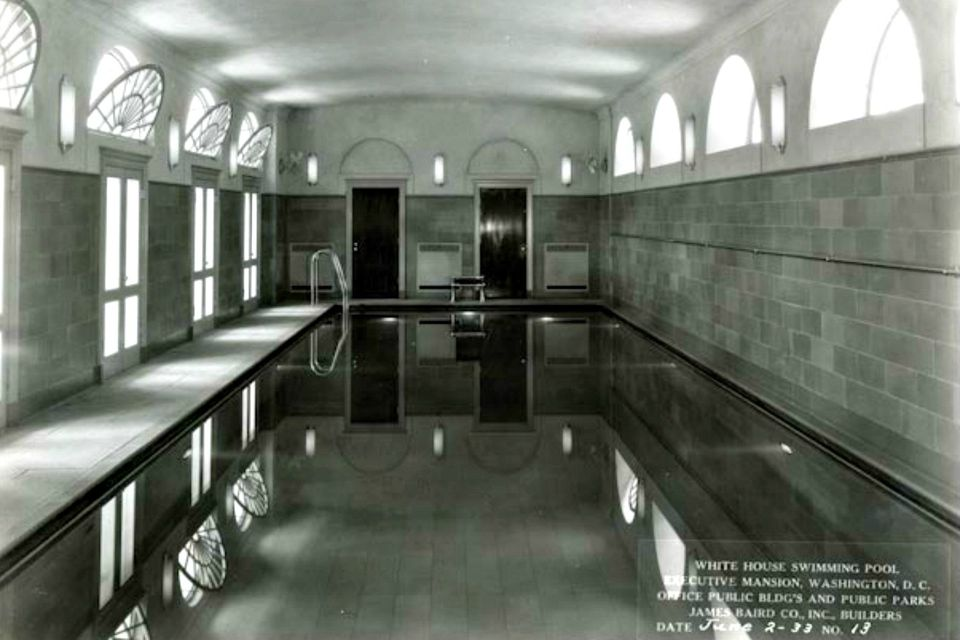 21 fun facts about the white house 39 s grounds for Does the white house have a swimming pool