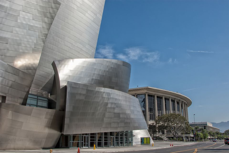 Top los angeles architectural sights famous buildings for Architectural plans of famous buildings