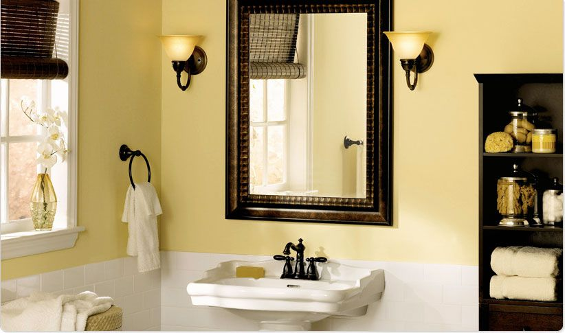 Warm  Formal Bathroom Paint Colors For a Bungalow Look. Bathroom Paint Colors to Inspire Your Design