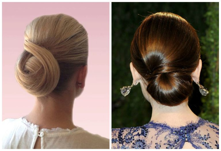 30 hairstyle ideas for classic prom updos formal updos on a model and on lily colllins left pinterest right getty images pmusecretfo Choice Image