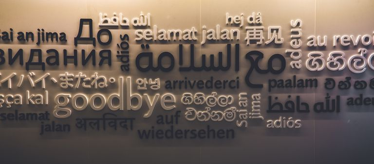 The close up shot on how people around the world say goodbye.