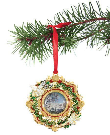 Annual White House Christmas Ornaments