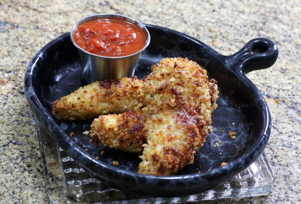 Chicken With Parmesan Coating
