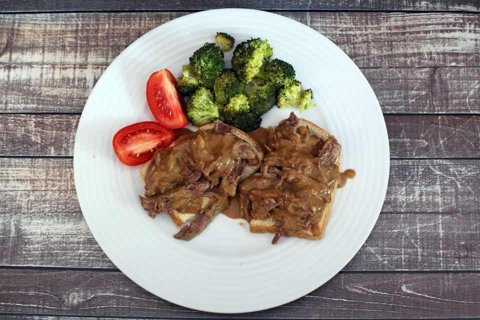 Shredded Beef With Gravy