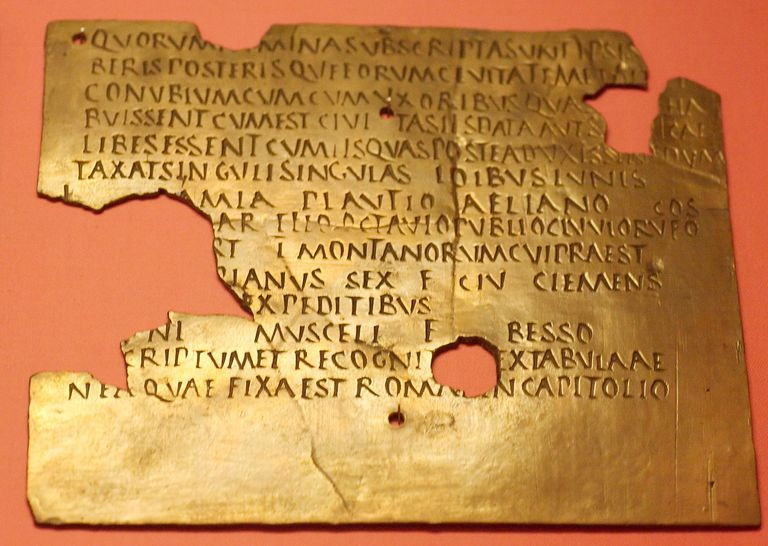 Fragmentary military diploma from Carnuntum
