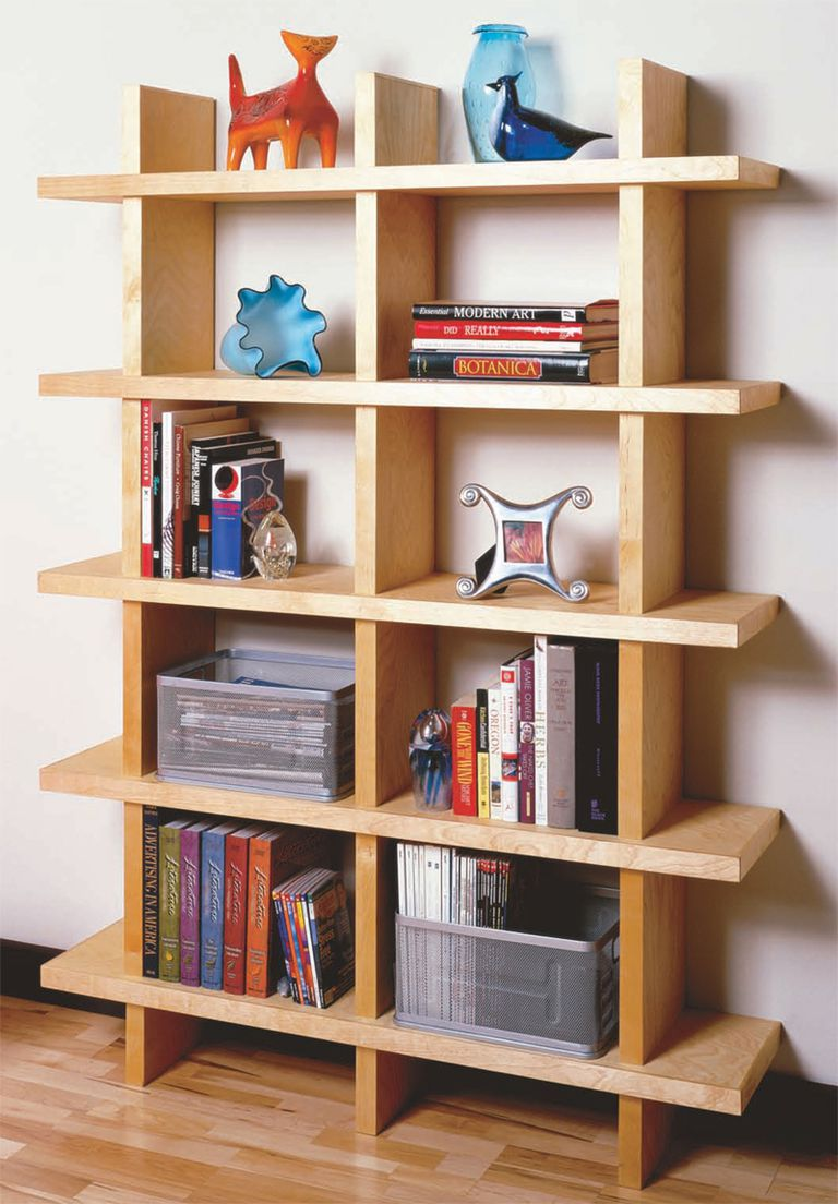 Contemporary Bookcase from American Woodworker