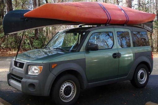 Kayak roof strap