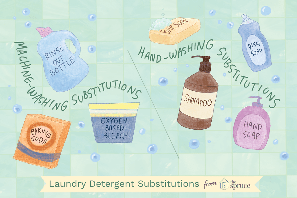 Laundry detergent substitutions