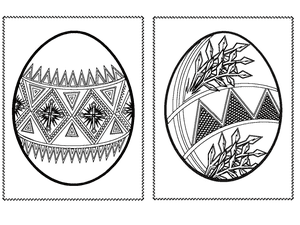 easter egg template free