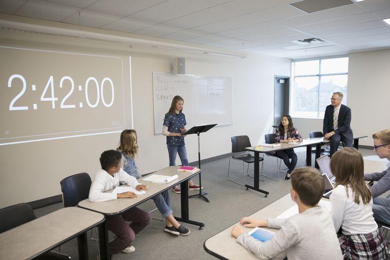Middle topics debate school