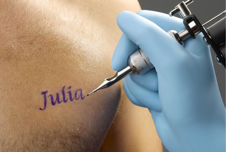 Getting Name Tattoos