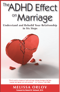 Th ADHD Effect on Marriage Book Cover