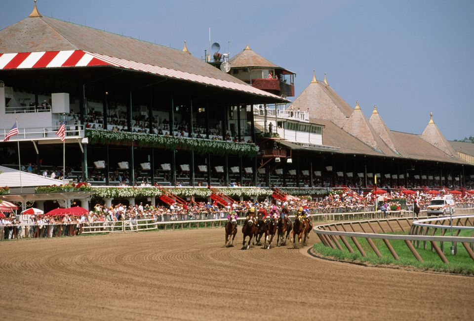 Thoroughbred Race at Saratoga