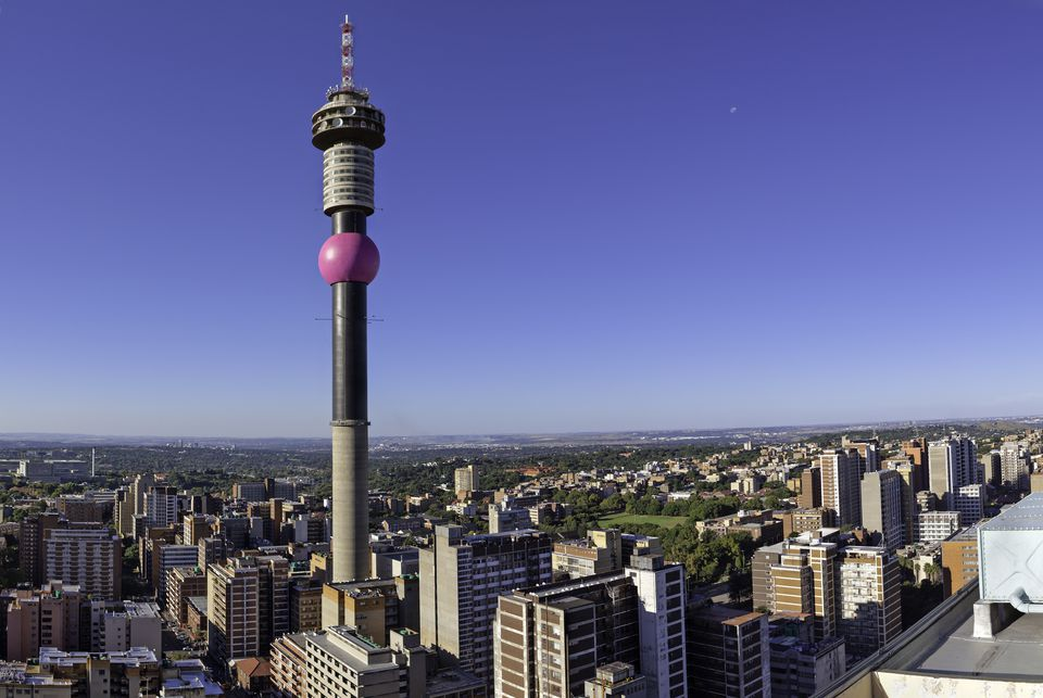 Hillbrow Tower Cityscape