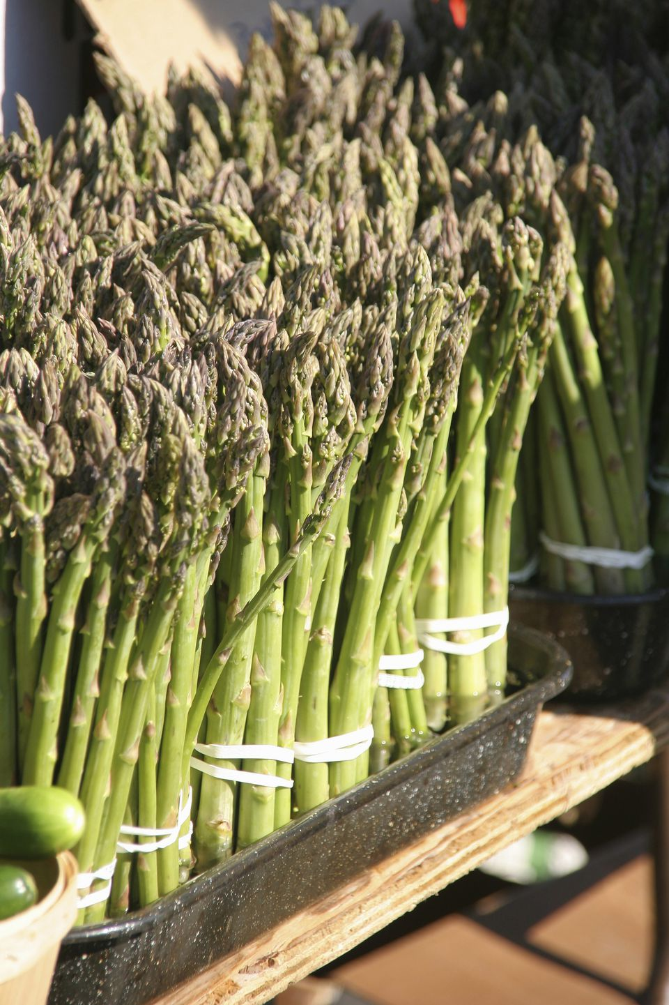 Asparagus at a farmers market, Kitchener, Ontario