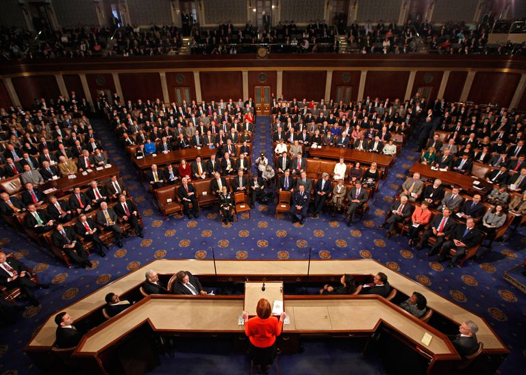 U.S. Congress inside the House of Representatives
