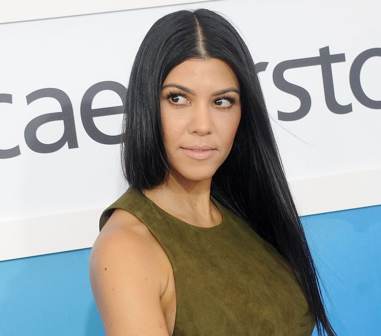Keeping Up With the Kardashians star Kourtney Kardashian