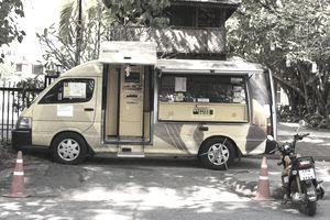 Money Transfer Van