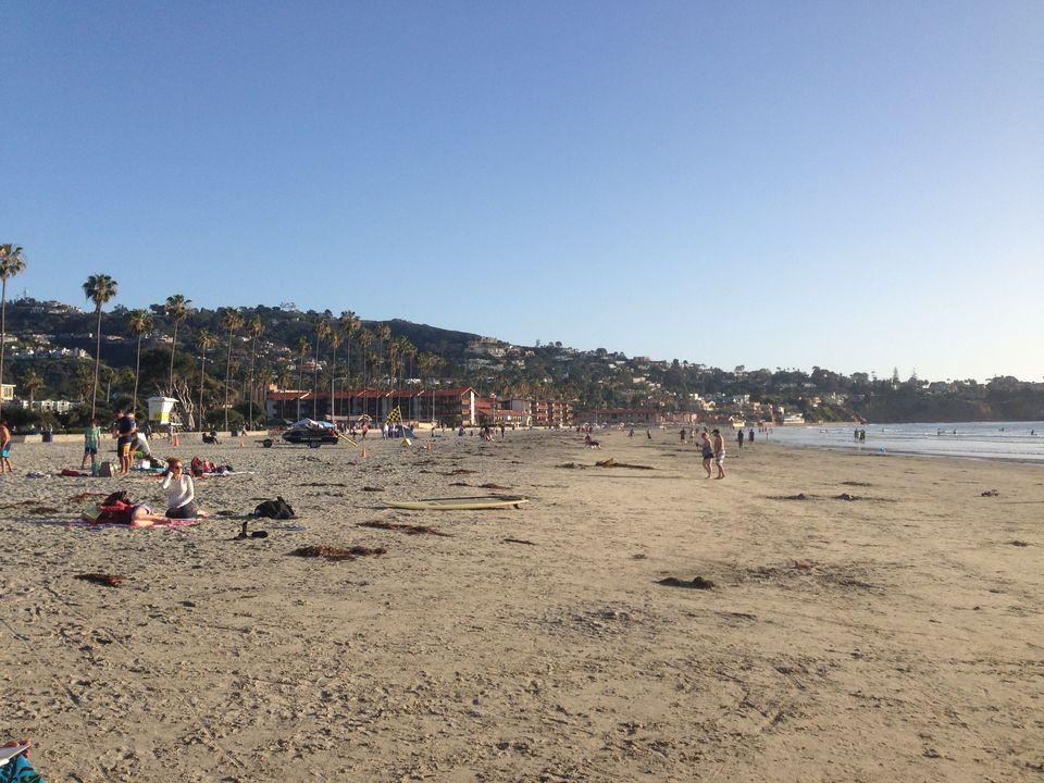 La Jolla Shores Beach in San Diego