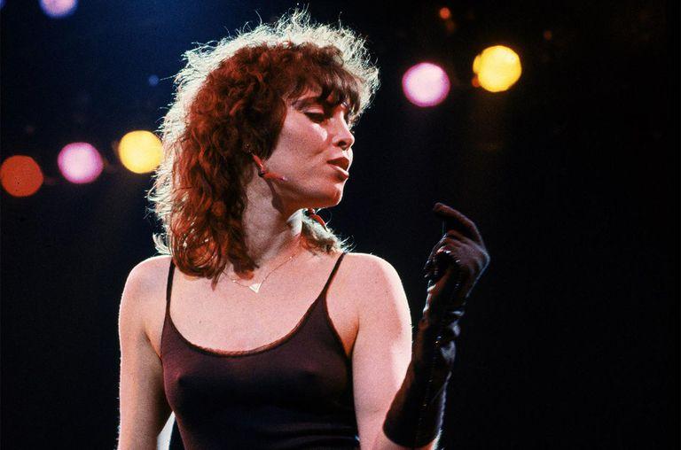 American singer Pat Benatar on stage, USA, 1980.