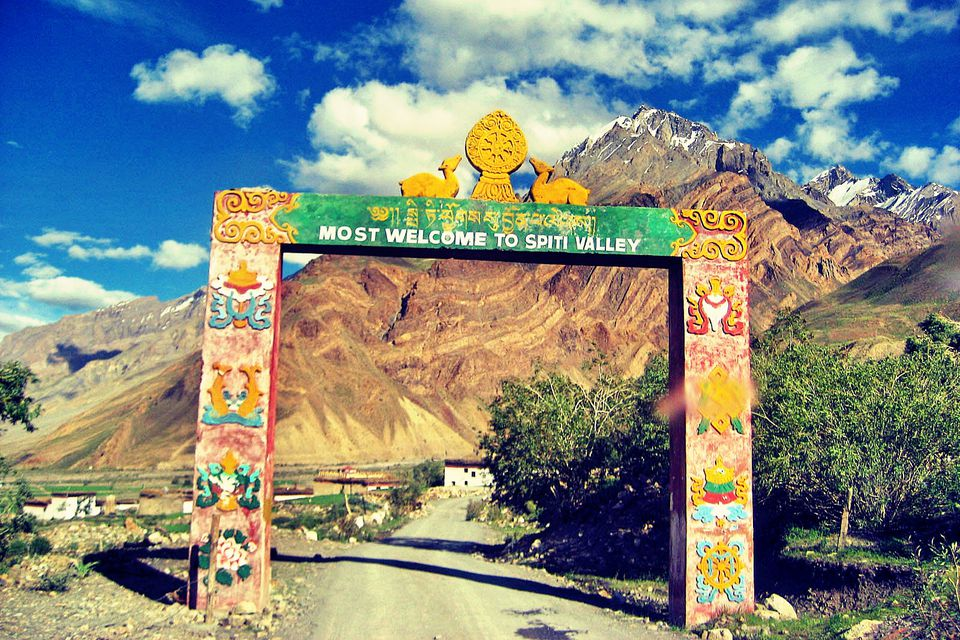 Gateway to the Spiti Valley.