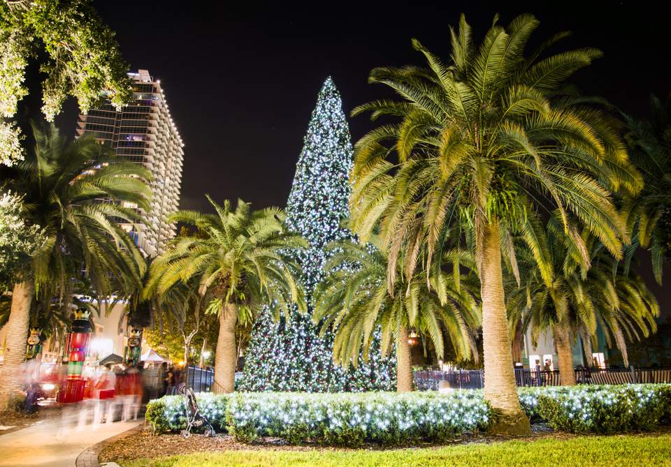 Where to go for christmas in the usa for Best december vacations in usa