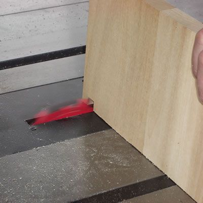 Cut the First Notch in the Jig