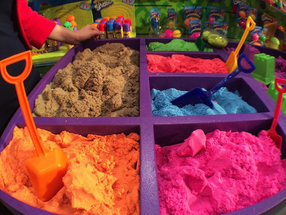 Wackytivities Kinetic Sand