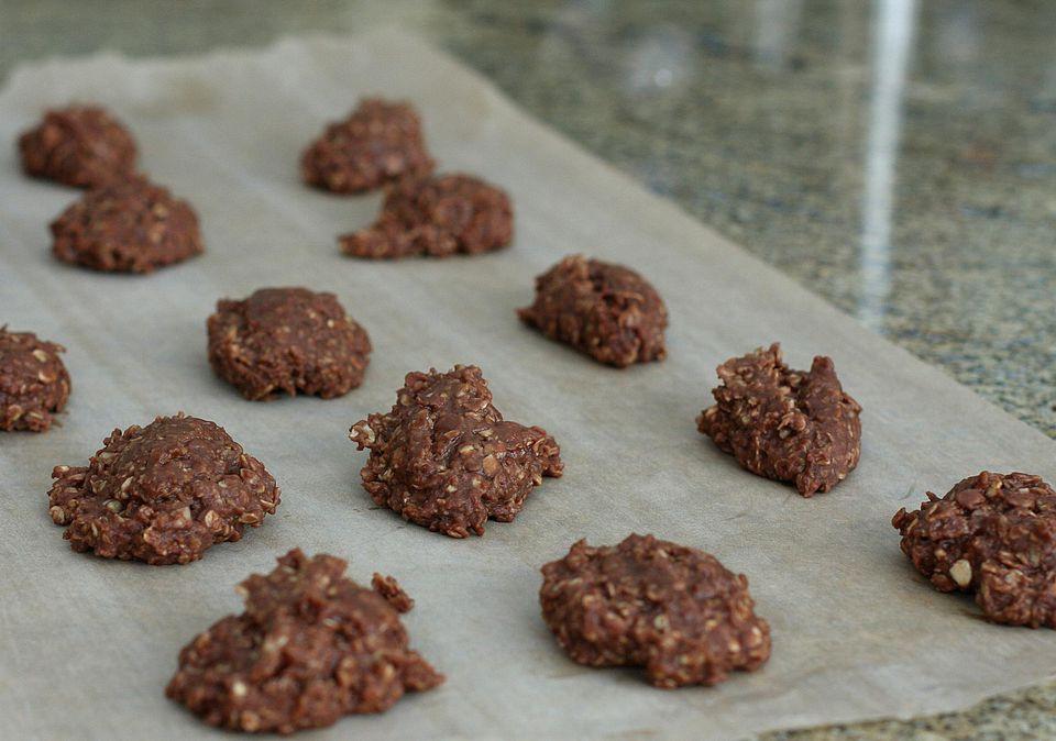 Chocolate Oatmeal No-Bake Cookies