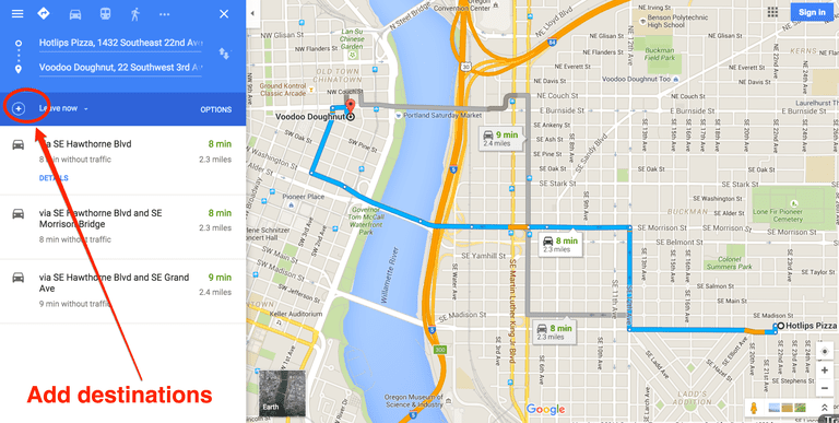 How to Get Driving Directions and More From Google Maps