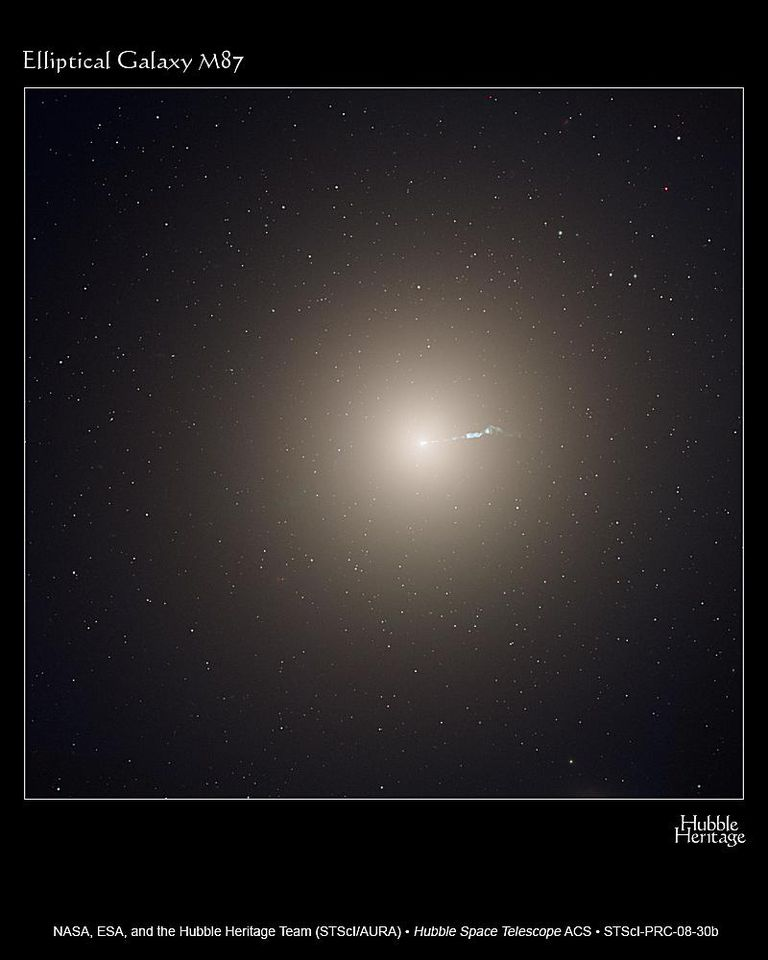 Hubble ACS Image of Elliptical Galaxy M87