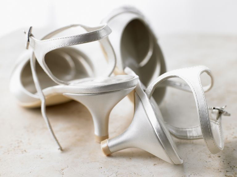 Abandoned Silver High Heels