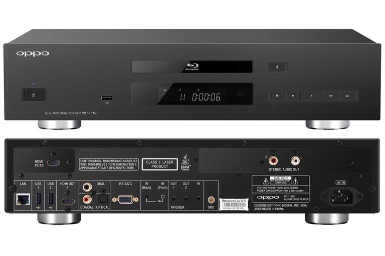 OPPO BDT-101ci Blu-ray Disc Player Transport