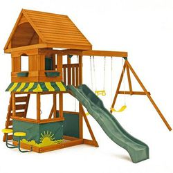 Best Compact Big Backyard Magnolia Wooden Swing Set Buy On Amazon