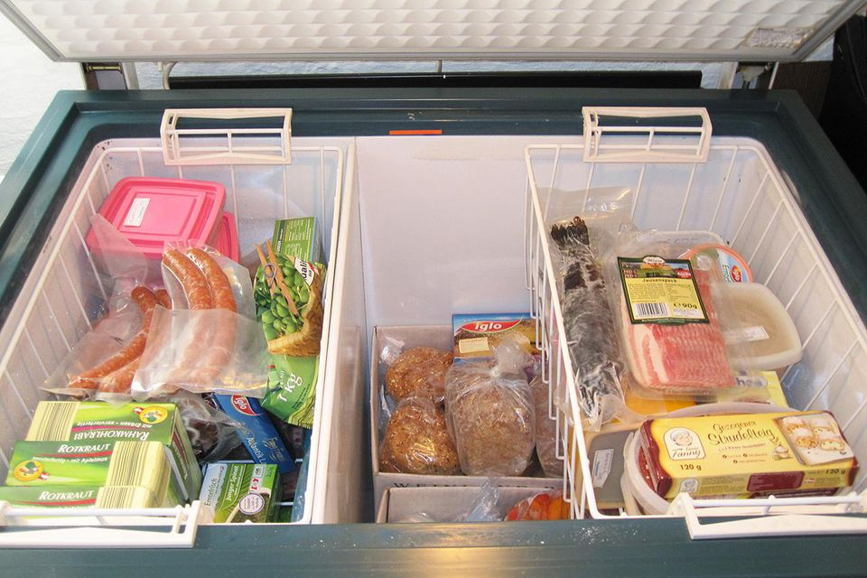 Freezing Food And Frozen Food Safety