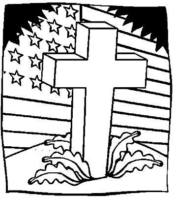 free memorial day coloring pages - Coloring Book Fun