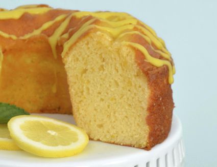 Meyer Lemon Pound Cake With Citrus Syrup