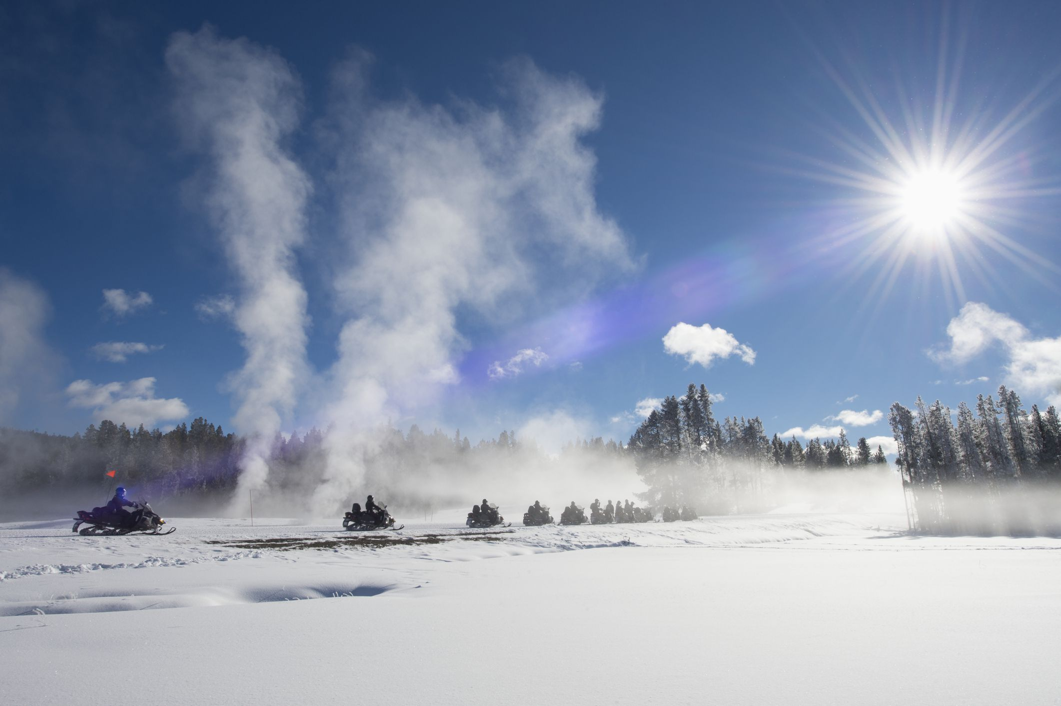 The Best Places for Snowmobiling in North America