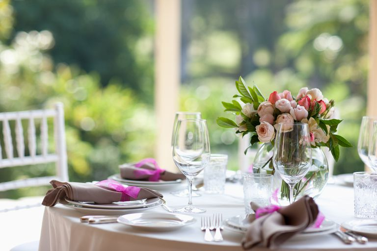 Free wedding stuff to help you save on your big day close up of centerpiece at wedding reception junglespirit Images