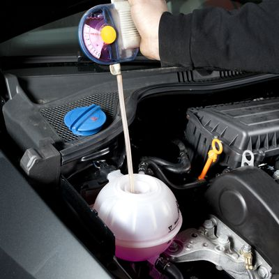 how to change car engine coolant