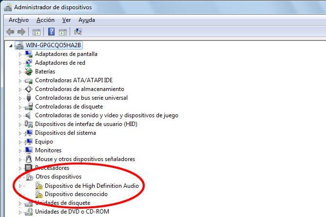 ErrorDriversWindows