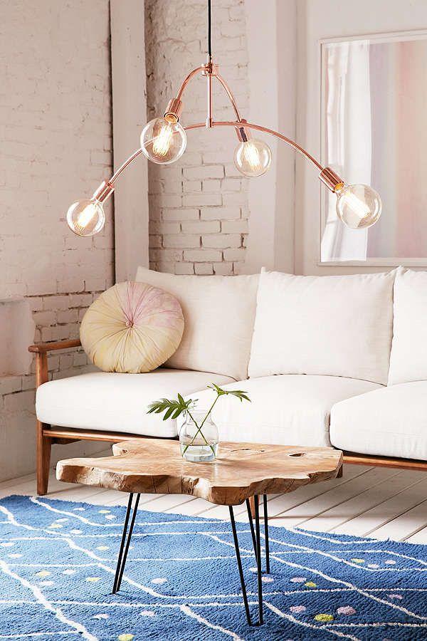 a hanging copper pendant light - Copper In Interior Design