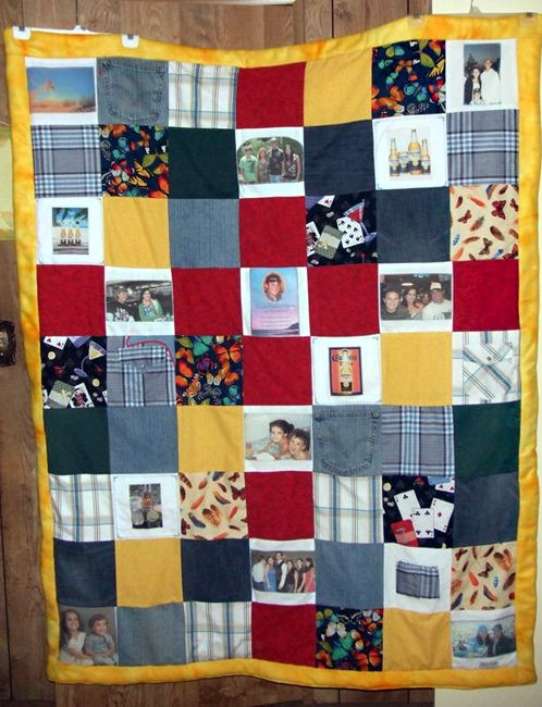 Memory Quilts Photo Gallery : memorial quilt ideas - Adamdwight.com