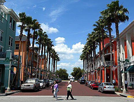 New Urbanism in Celebration, Florida
