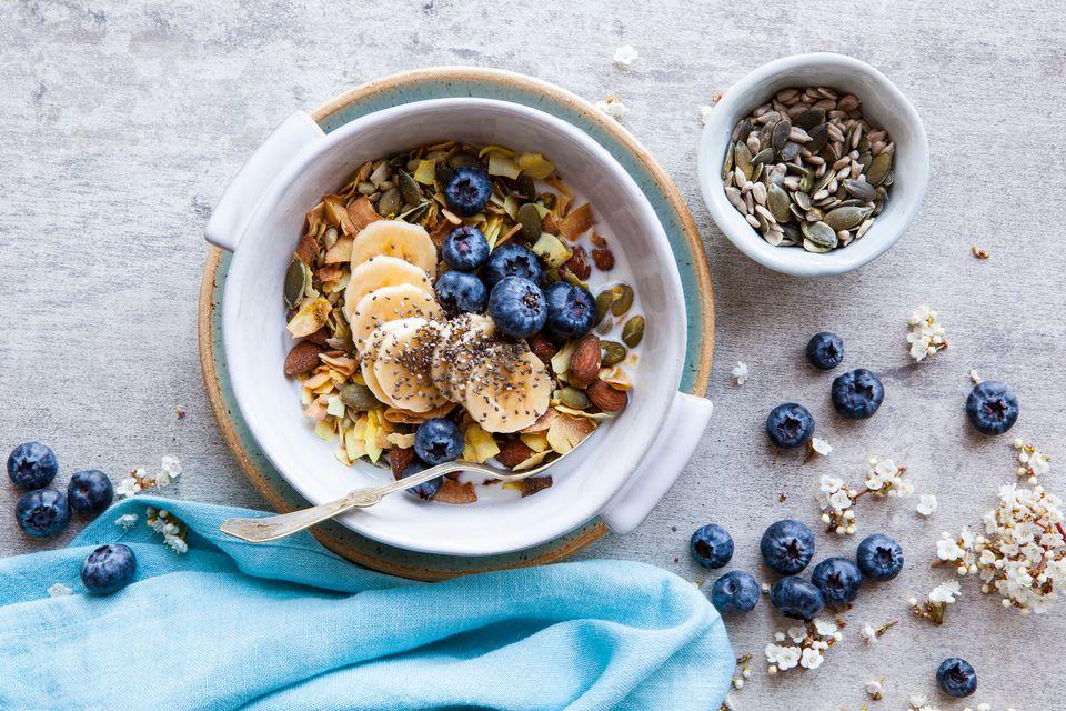 cereal breakfast bowl