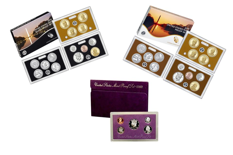 Proof Sets Produced by the United States Mint