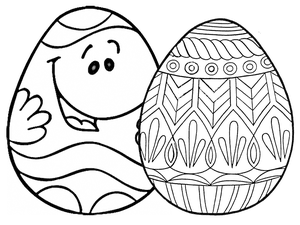 217 free printable easter egg coloring pages - Coloring Pages Of Easter Eggs