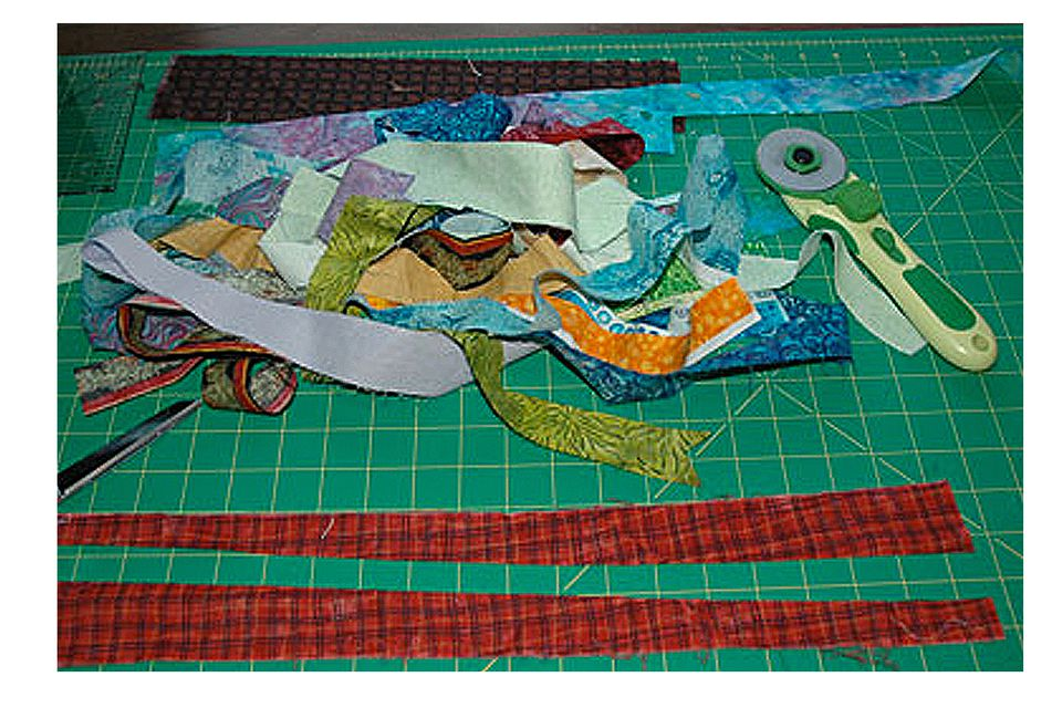 Learn How to Make String Quilts