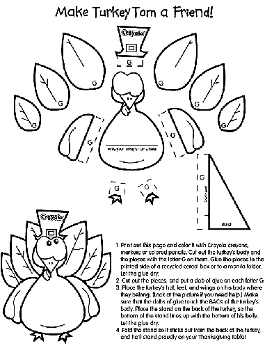 favorite sites for thanksgiving coloring pages thanksgiving coloring pages from crayola - Pictures Of Turkeys For Kids 2