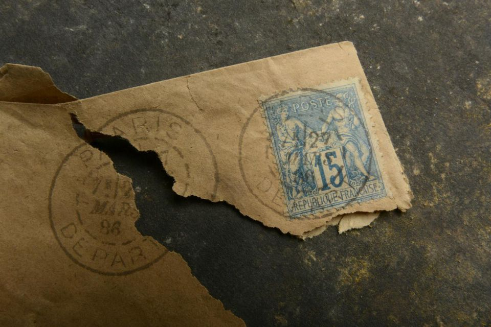 Old french stamps